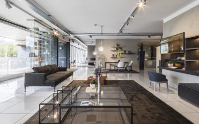 Pellegrinelli Arreda showrooms: two excellent furniture stores in Milan
