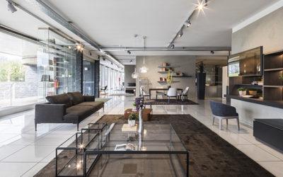 Pellegrinelli Arreda showrooms: two excellent furniture stores in Milan