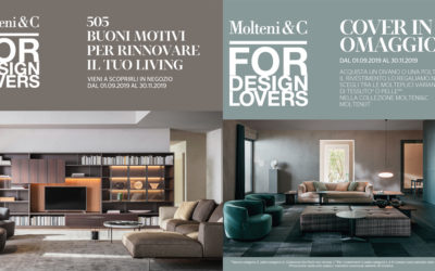 Molteni&C For Design Lovers: two new promos