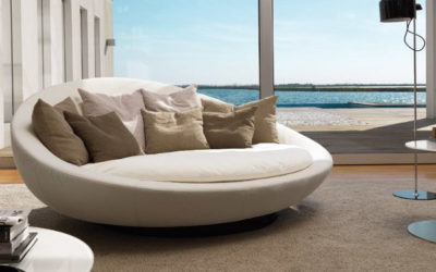 Désirée sofas: at Pellegrinelli Arreda in Milan you can find Monopoli and many other amazing models