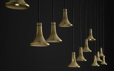 Vesoi lights and suspension lamps: Pellegrinelli Arreda offerings